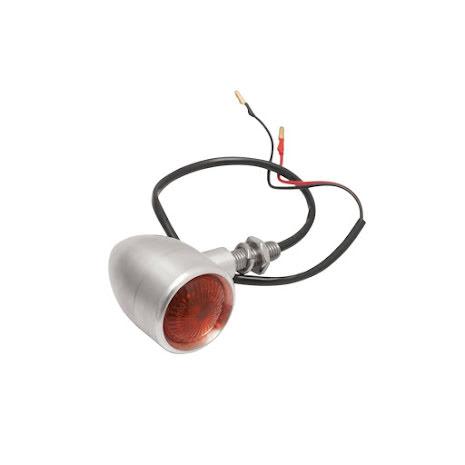 Custom Billet Indicator Turn Signals - Pair - Brushed