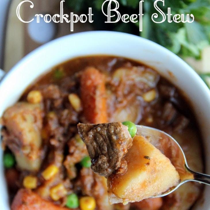 The Best Crockpot Beef Stew Recipe