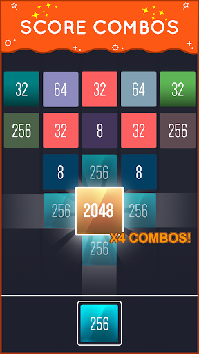 X2 Blocks - Merge Puzzle screenshot 4