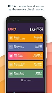 BRD - bitcoin wallet Screenshot