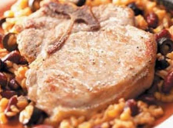 Mexican Style Pork Chops