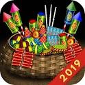 Eco friendly Diwali game: crackers bomb fireworks icon