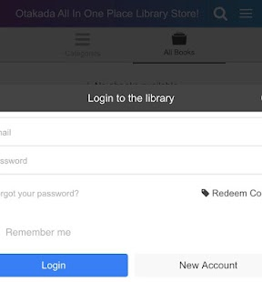 Otakada All In One Mobile Library Store App- screenshot thumbnail