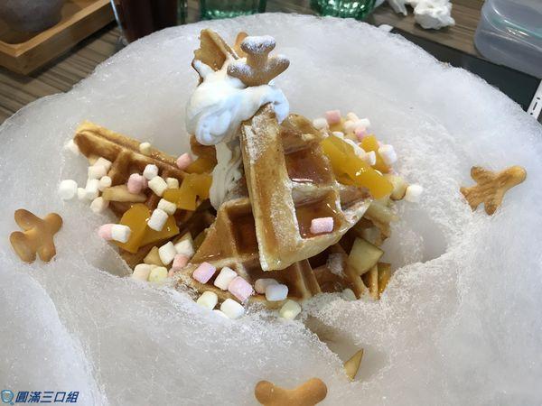雅米廚房Yummy Kitchen四維2店@雪花鬆餅的飄飄然 感受那悠閒自在的愉悅氛圍