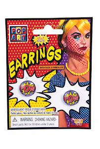 Pop Art, örhängen