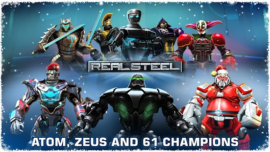 Real Steel HD 1.34.1 (Retail & Mod) Apk + Data