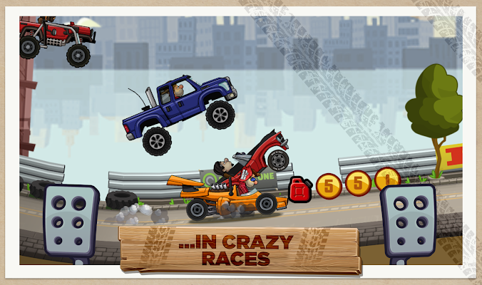 Hill Climb Racing 2 - screenshot