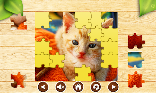 Cat Jigsaw Puzzles Cute Brain Games for Kids FREE - náhled