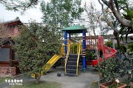 窄巷古厝咖啡兒童遊戲區