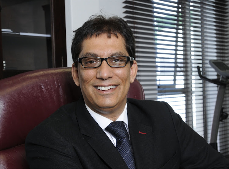 Sekunjalo Group executive chair Iqbal Survé. Picture: FINANCIAL MAIL
