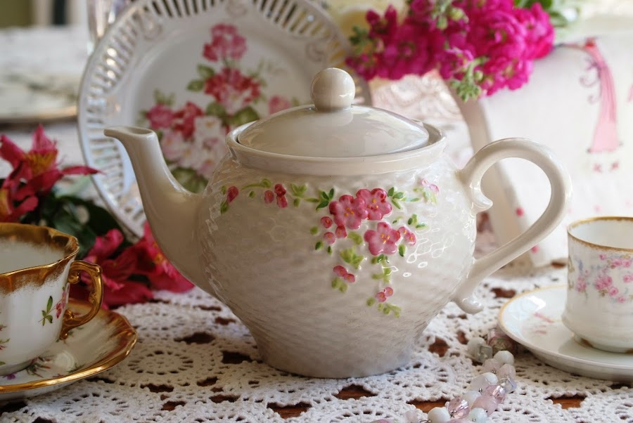 Ladies tea by Brenda Shoemake - Artistic Objects Cups, Plates & Utensils