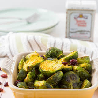 Curry-Roasted Brussels Sprouts.