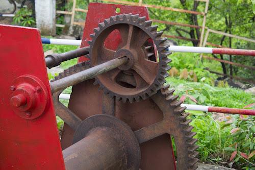 Old Steel Gears  by Basant Malviya - Uncategorized All Uncategorized ( steel, old, metal, junk, gear,  )