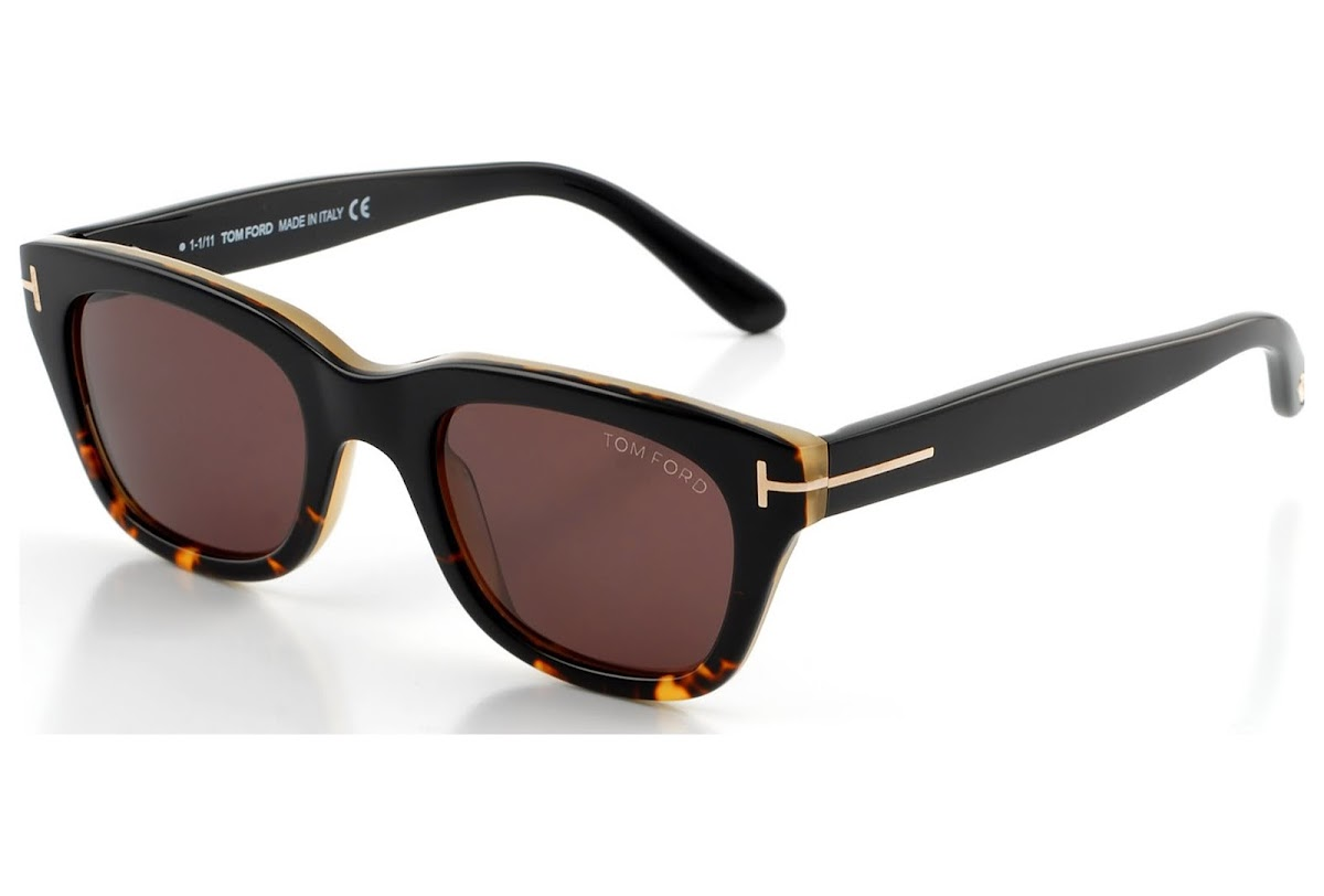 b83cddacdd Sunglasses Tom Ford Snowdon FT0237 C52 05J (black other   roviex)