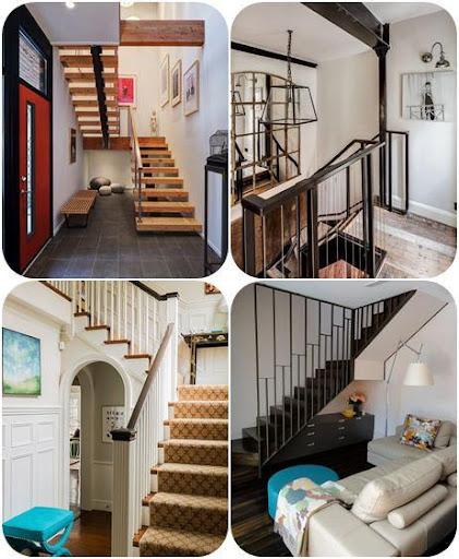 階段のデザインのアイデア