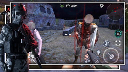 Zombie Survival Shooting Strike -Realistic FPS War screenshots 2