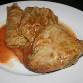 Cabbage Rolls CrockPot.