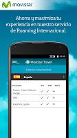 screenshot of Movistar Travel