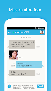 Gaydar. Incontri Gay.- miniatura screenshot