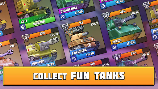 Tanks Brawl screenshot 2