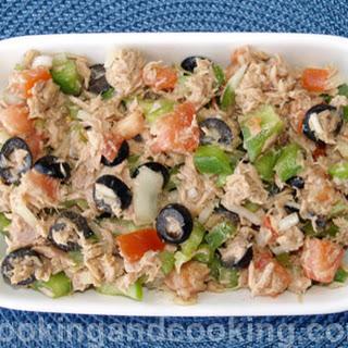 Tuna Vegetable Salad Recipe