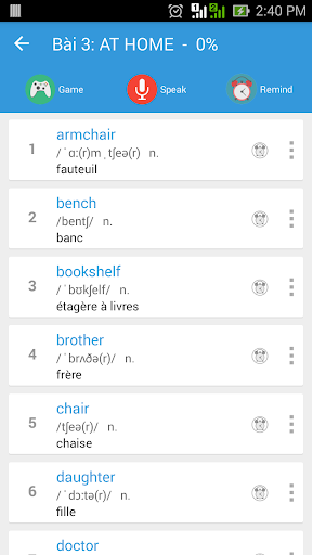 Apprendre Vocabulaire Anglais fond d'écran 2