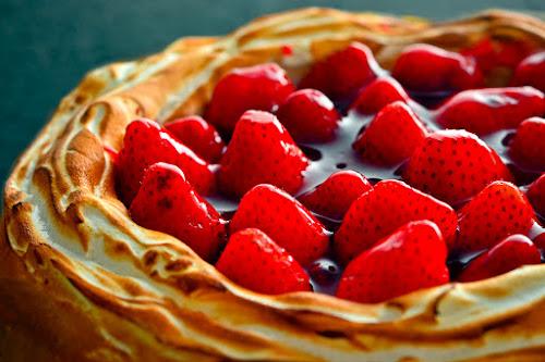 Strawberry Cheesecake by Daniel Karamoy - Food & Drink Candy & Dessert ( cake, food, cheese, strawberry )