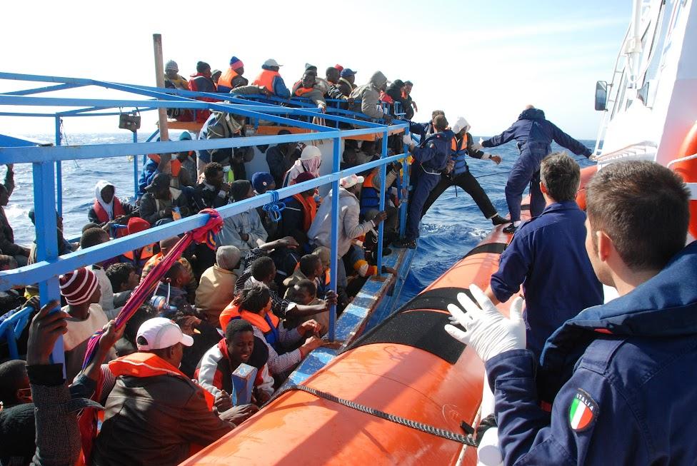 Immigrazione - Photo credit: Guardia Costiera