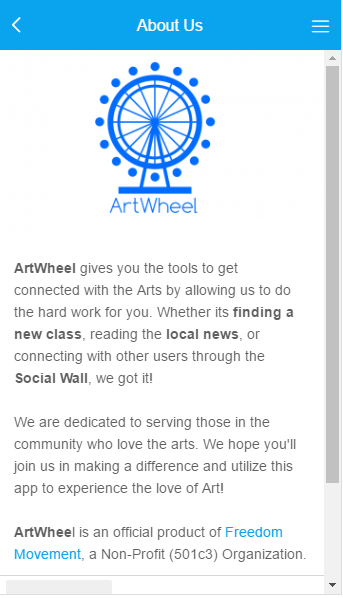 ArtWheel- screenshot