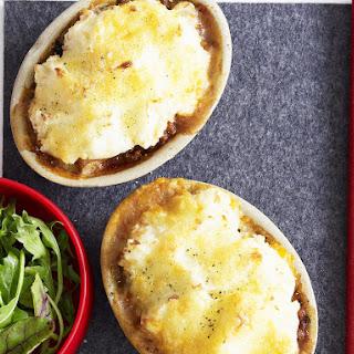 Mini Shepherd's Pies with Cheesy Potato Topping.