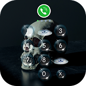 AppLock Theme - Skull