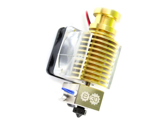 E3D v6 Gold HotEnd Full Kit - 1 75mm (12v)