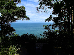 Photo: View of the Pacific ocean from the Tucan cabina