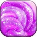 Glitter Slime Wallpaper icon