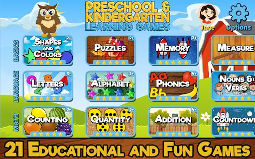 Preschool and Kindergarten Learning Games cheat screenshots 1