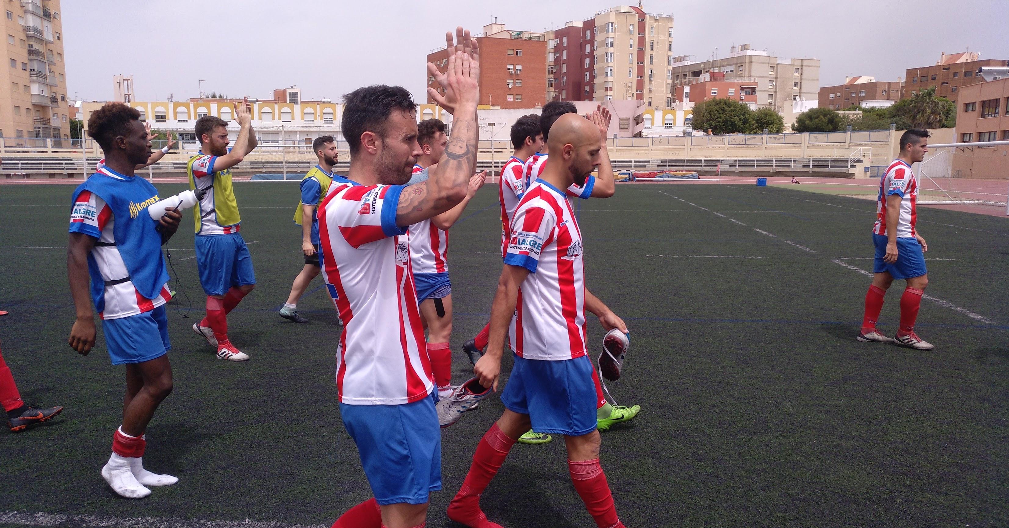 El Poli Almería agradece el incondicional apoyo de su afición.
