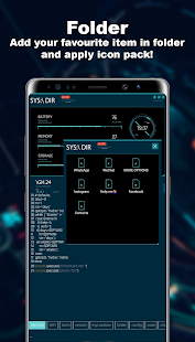 Sci-Fi Theme -- Aris Launcher