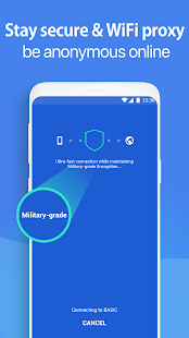 Snap VPN - Unlimited Free & Super Fast VPN Proxy Screenshot