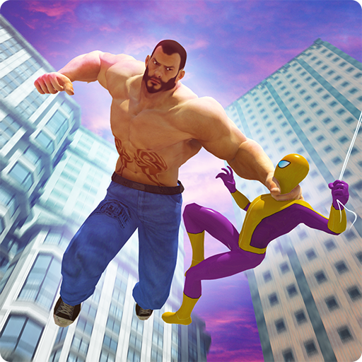 Fighting Games: Spider Superhero v/s Bigman (game)