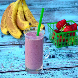 Banana Berry Smoothie.