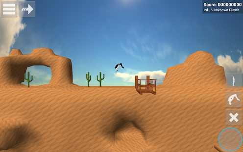 Backflip Madness - Extreme sports flip game Screenshot
