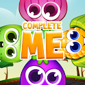 Complete me - Tile puzzle icon