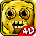 Stickman Run 4D - Fun Run icon