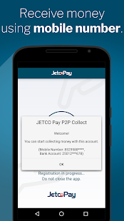 JETCO Pay P2P Collect - náhled