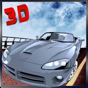 City Racing Futuristic Car 3D