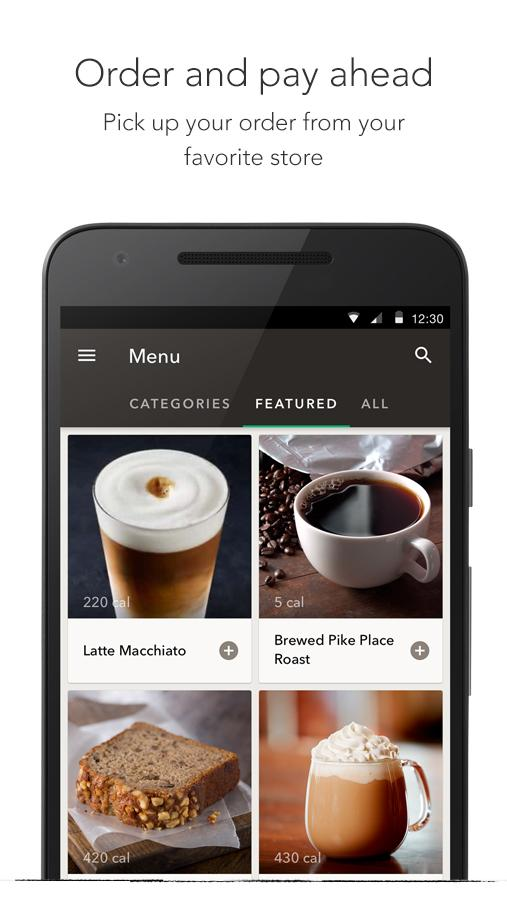 Starbucks- screenshot