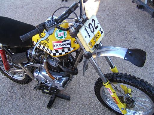 750 Norton Desert Race.