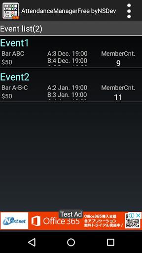 AttendanceManagerFree byNSDev 1.2.4 Windows u7528 1