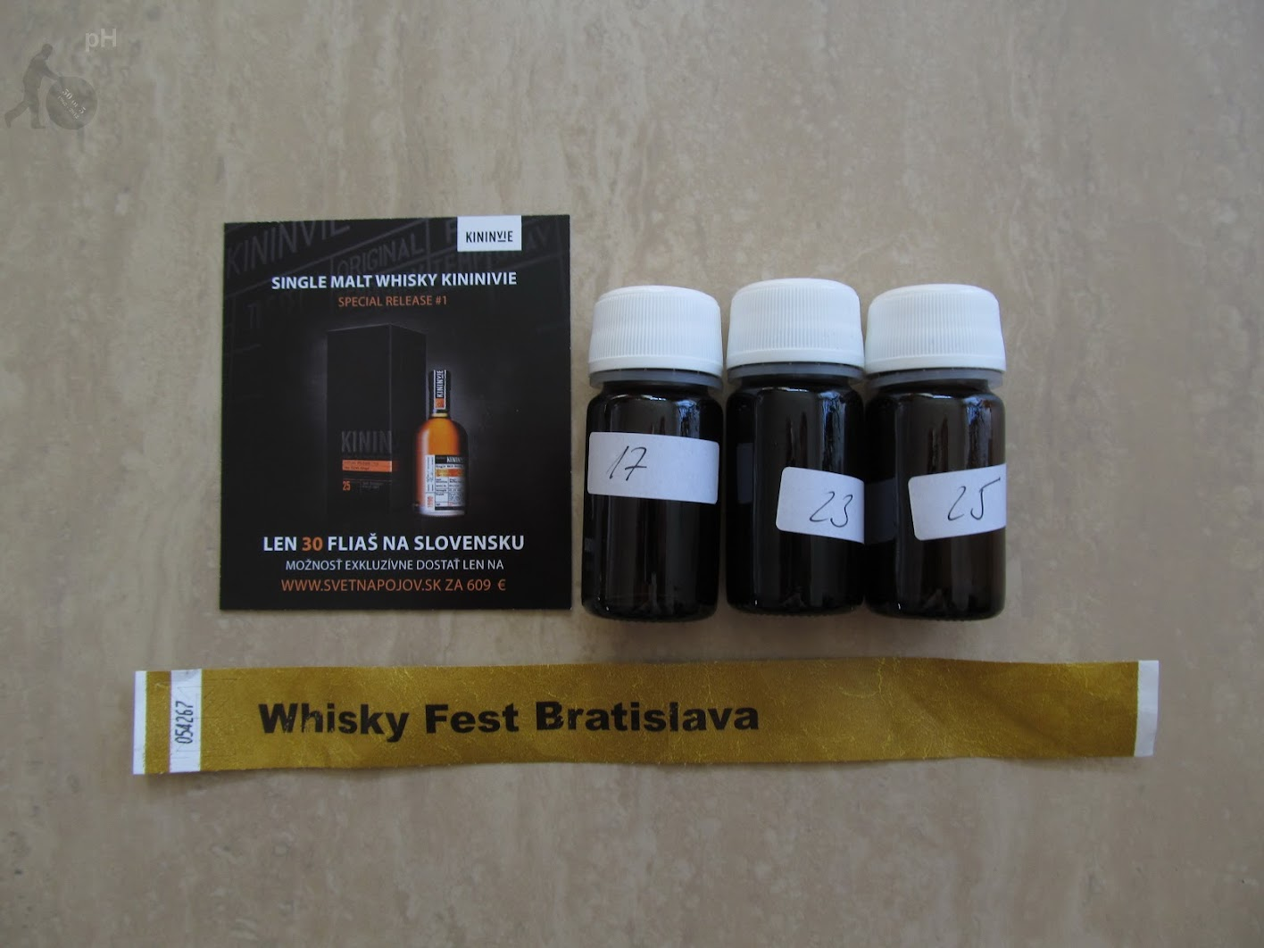 Kininvie samples