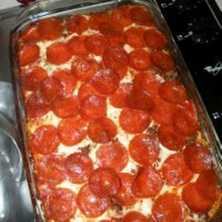 Mama's Pizza Casserole